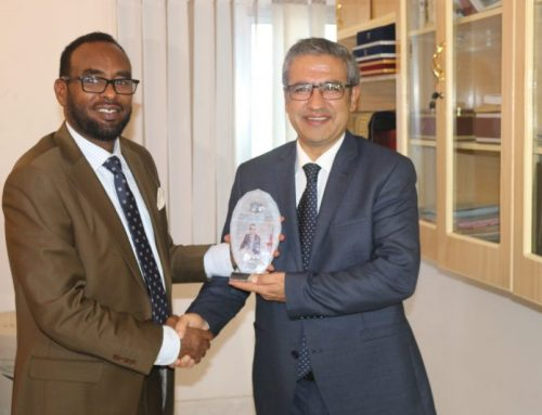 The Attorney General Of Somalia And The First Deputy General Welcomed The Turkish Ambassador In Somalia.
